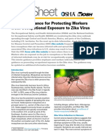 Interim Guidance for Protecting Workers from Occupational Exposure to Zika Virus