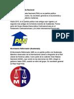 Partidos Politicos de Guatemala
