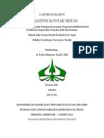 Laporan Kasus - Dermatitis Kontak Iritan
