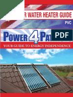 Water Heater - PVC Manual