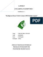 Konfigurasi DasarSwitch Catalyst 2950 Melalui Console - Copy