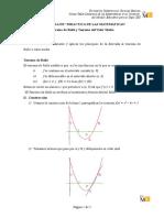 Manual Calculadora Voyage - Teoremas de Rolle y Valor Medio