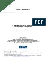 As relações Econômicas Brasil-China