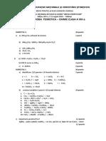 8 teorie chimie barem