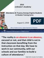 attendance and truency