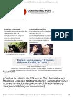 ¿Cual Es La Relación de PPk Con El Club Anticristiano y Masónico Bildeberg Norteamericano