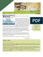 St. Paul's News - June, 2010