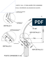 Brazo Ornamental Corto 1.5m-0 T. Carabobo