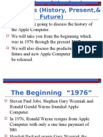 The Timeline of the Apple Computer 1
