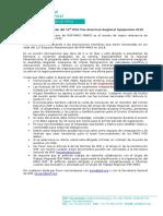 Call for IPSF PARS 2018 Host (Español)