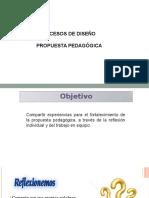 Orientaciones de la  Propuesta Pedegogica