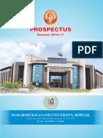 Prospectus 2016- 17
