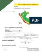 Analisis sismico estático y dinámico de estructuras por el metodo matricial !