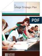 Durham College Strategic Plan 2010-2013