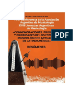 XXII Conferencia AAM - Resúmenes