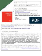 SHAPIRO Whay Democracie Need Functional Definition Journalism