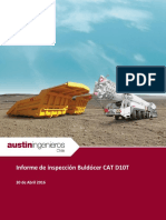 Informe de inspección Bd N°6 CAT D10T 28-04-2016