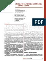 Fitoterápicos Utilizados Na Medicina Veterinária