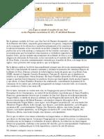 Decreto Con El Que Se Añade El Nombre de San José en Las Plegarias Eucarísticas II, III y IV