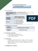 Plan de Actividad de Pollada Deportiva - Copia