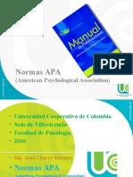 Normas Apa 2016 Psicología Ucc