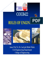 Lecture 1 Roles of Engineers