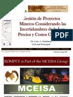 Gestion de Proyectos Mineros