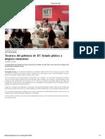 13-07-16 Tesorera del gobierno de EU brinda plática a mujeres sonorenses. -Tribuna Del Yaqui