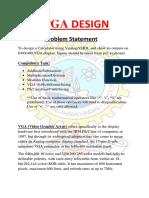 Fpga Problem Statement