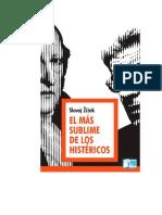 Zizek Slavoj - El Mas Sublime de Los Histericos