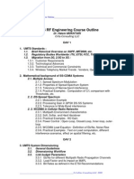 UMTS RF Engineering Course Outline