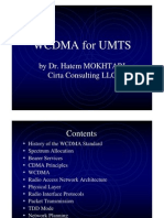 WCDMA for UMTS Training
