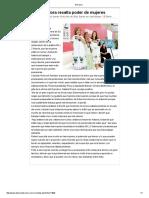 14/07/16 Gobernadora resalta poder de mujeres. -El Diario
