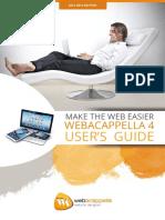 Web Acappella User's Guide