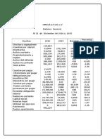 Analisis Horizontal Comparativo