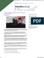 ¿Armas de Defensa Personal o Deportivas Requieren Permiso de Porte
