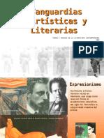 Vanguardias Artisticas y Literarias