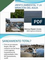 Contaminación Del Agua y Planes de Saneamiento 2016