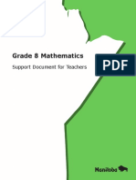 Math 8 Support Documents
