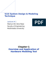 VLSI System Design & Modeling Technique