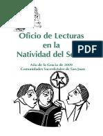 2009 Oficio de Lecturas Navidad