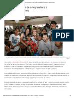 10-07-16 Llevan instructores de arte y cultura a pequeños municipios. -Opinión Sonora