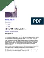 Tetanus Neonatorum 1