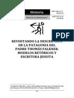Revisitando La Descripcion de La Patagon