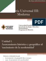 Unidad 1 Acercamiento Histórico y Geográfico Al 'Nacimiento de La Modernidad'