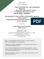 American Future Systems, Inc., Steven Brubaker, Richard J. Wingert, W. Bruce Del Valle, Joan D. Varsics, Dennis C. Habecker, Kevin Graves and John B. Spillar v. The Pennsylvania State University, Board of Trustees of the Pennsylvania State University, John W. Oswald, and M. Lee Upcraft, 688 F.2d 907, 3rd Cir. (1982)