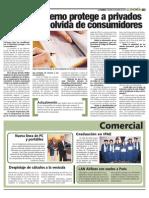 Miguel Martín Mato - Gobierno protege a privados y se olvida de consumidores