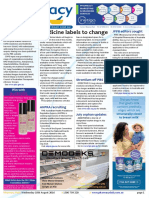 Pharmacy Daily for Wed 10 Aug 2016 - Medicine labels to change, JPPR editors sought, COPD AMPERSAND Ezetimibe submissions public, Health AMPERSAND Beauty and much more