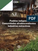 Pueblos indígenas, comunidades afrodescendientes y recursos naturales