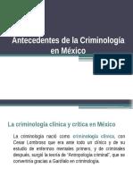 Criminologia en Mexico